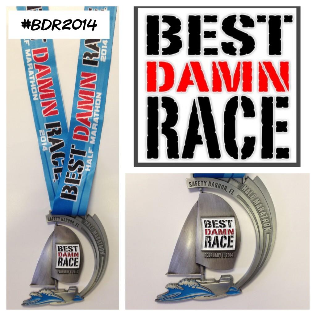 Introducing the 2014 BDR Half Marathon Medal