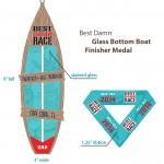 2014 Cape Coral Marathon & Half Marathon Finisher Medals