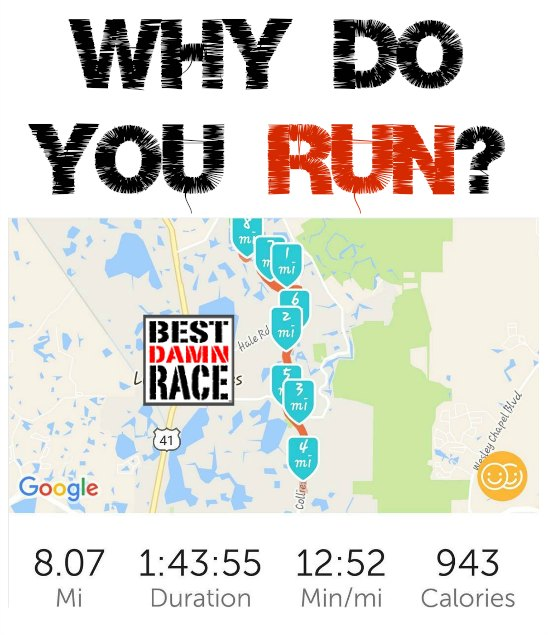 A Runner's Favorite Question: Why Do You Run?
